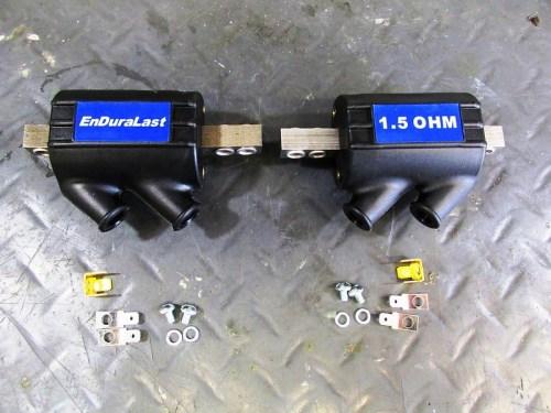 EME Enduralast 1.5 Ohm Dual-Port Coil Kits with Hardware