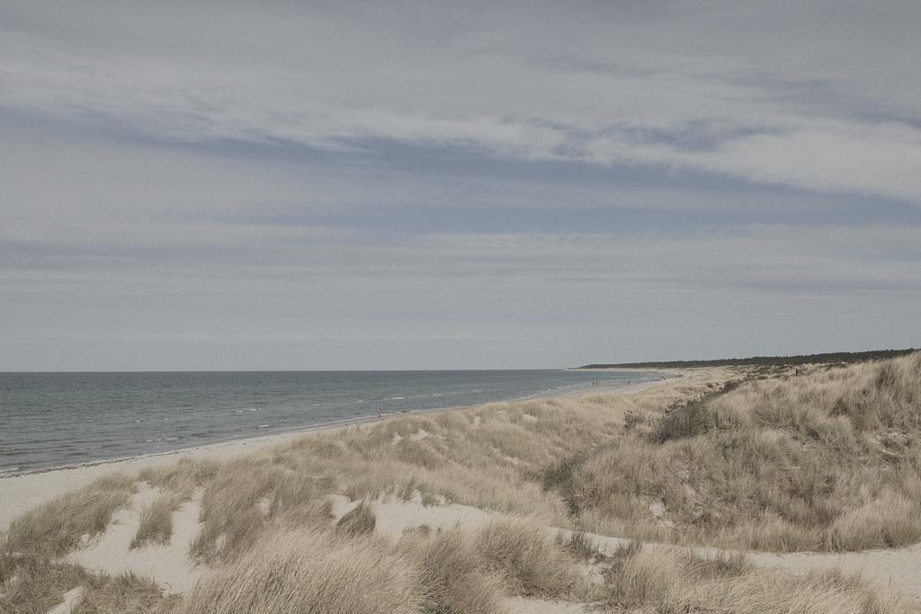 Beautiful beach at Rørvig