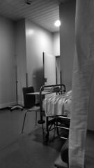 Hospital o cuarto