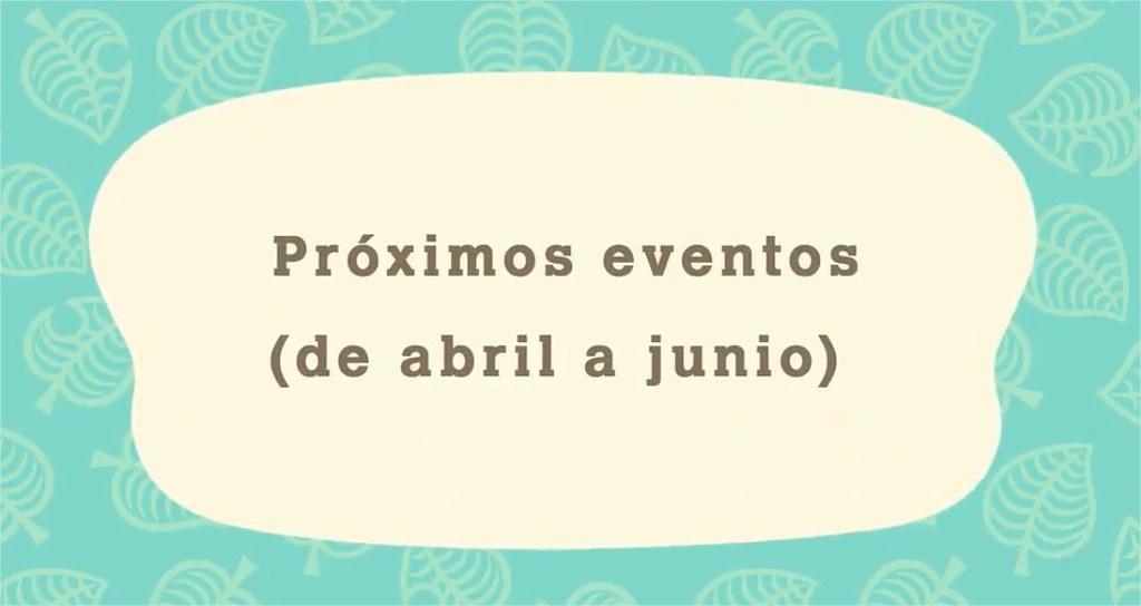 EVENTOS ABRIL JUNIO
