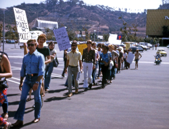 May Company Protest, San Diego 1974