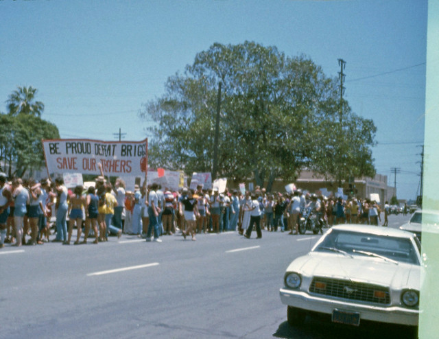 San Diego Gay Pride Day Parade,1978