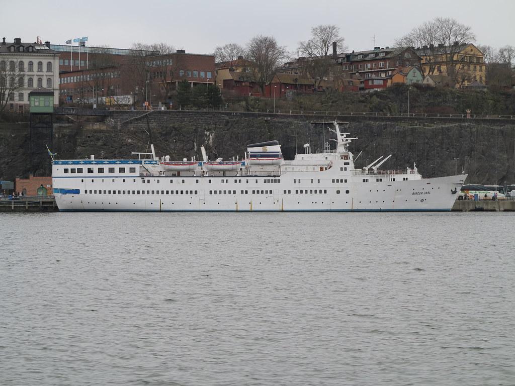 Stockholm   MS Birger Jarl is a cruise ship owned by Ånedin …   Flickr