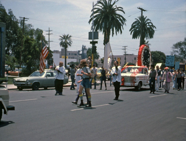 1st annual San Diego Gay Pride Day Parade, 1975