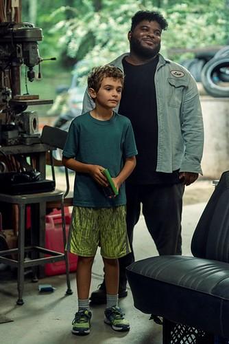 Jason David as Wayne McQueen, Jonathan Langdon as Lou Carmody - NOS4A2 _ Season 2 - Photo Credit: Zach Dilgard/AMC