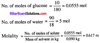 Bihar Board 12th Chemistry Objective Answers Chapter 2 Solutions 4