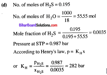 Bihar Board 12th Chemistry Objective Answers Chapter 2 Solutions 6