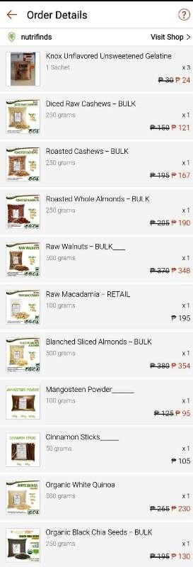 5.5 Shopee Mart Sale Shopping Hauls 1