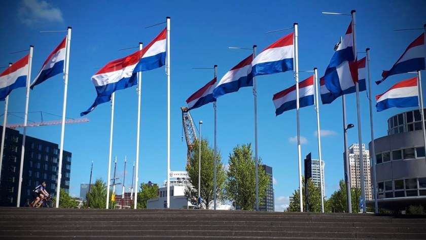Rotterdam Daily Photo: The great value of freedom, democracy and human rights