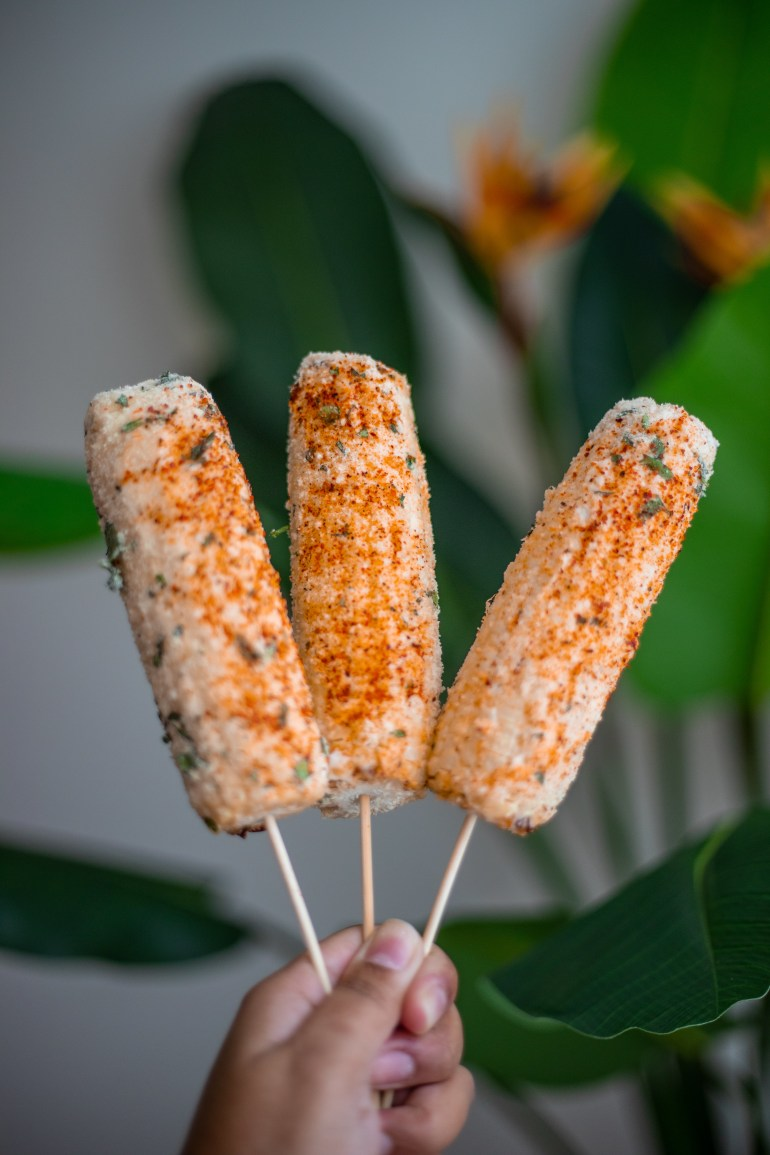 Elote Recipe - Mexican Street Corn, Elote, Elote Recipe, Tajin Seasoning, Tajin Recipe, Best Elote Recipe, Easy Elote Recipe, Mexican Street Corn Recipe, mexican food, corn on the cob | Wanderlustyle.com
