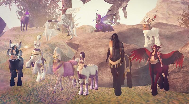 Centaur Parade - The Gathering - Part 1