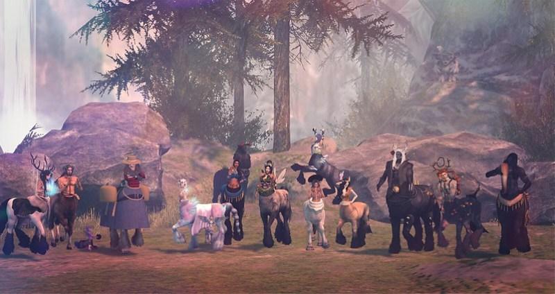 Centaur Parade - The Gathering - Part 2