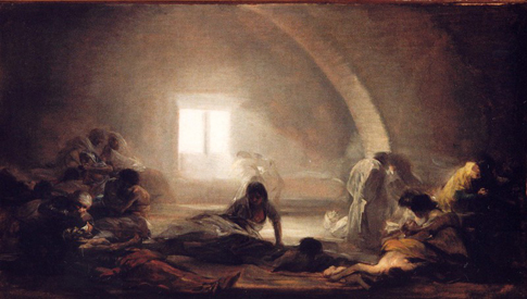 Goya Hospital de apestados Uti 485