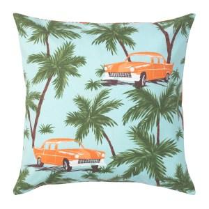 SOMMAR2020 Cushion Cover Blue Multicolour