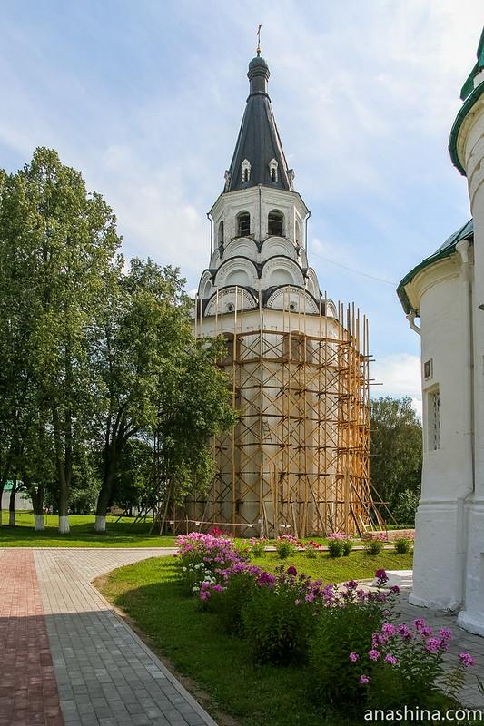 Распятский храм-колокольня, Свято-Успенский женский монастырь, Александров