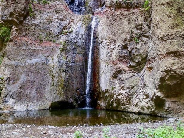 Cascada del Barranco del Infierno en Tenerife