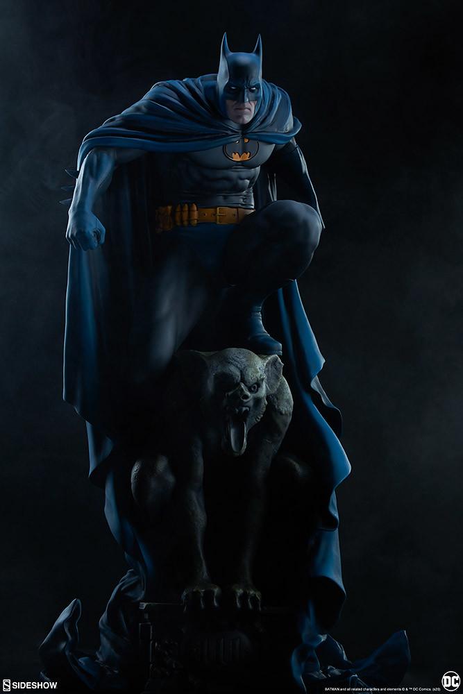 展現出潛藏於心中的深層黑暗! Sideshow Collectibles Premium Format Figure 系列 DC【蝙蝠俠】Batman 1/4 比例全身雕像 ...