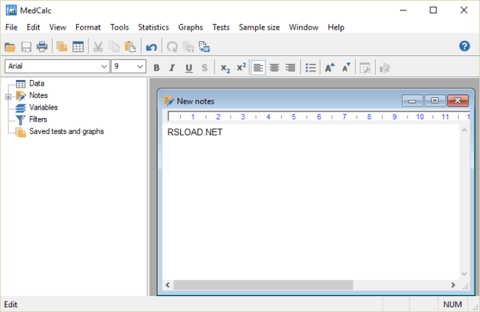 Working with MedCalc 19.2.5 full license