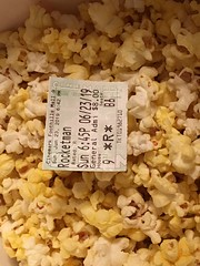 Picture of the Day - June 23, 2019 / Rocketman Movie Ticket and Popcorn