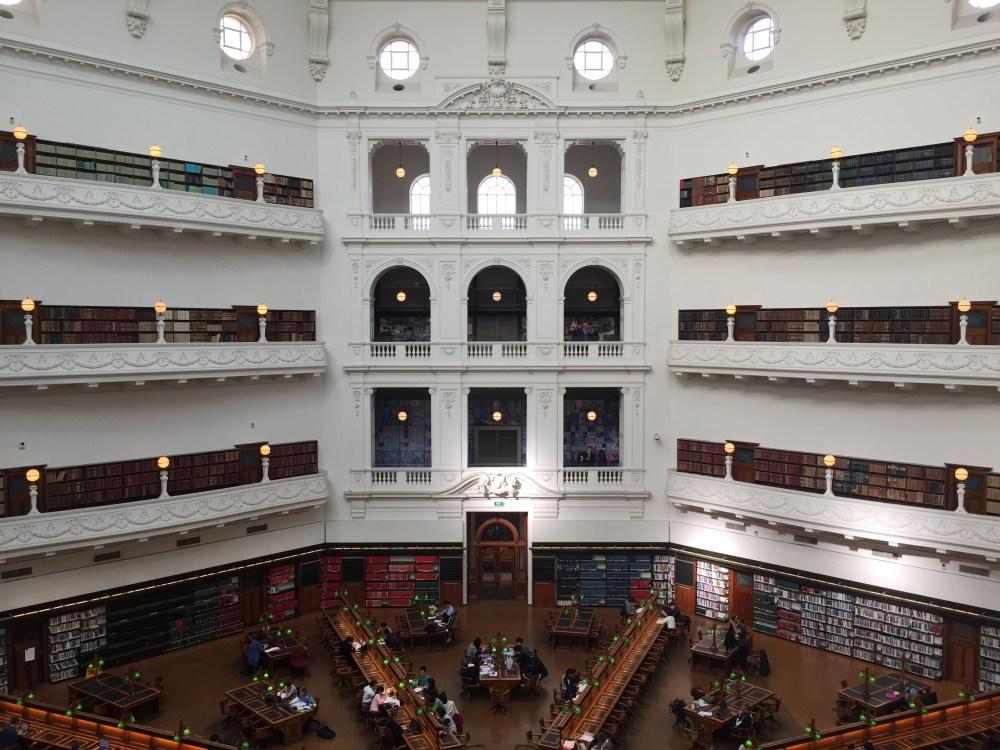 8 July 2016: State Library Victoria | Melbourne CBD, Victoria, Australia