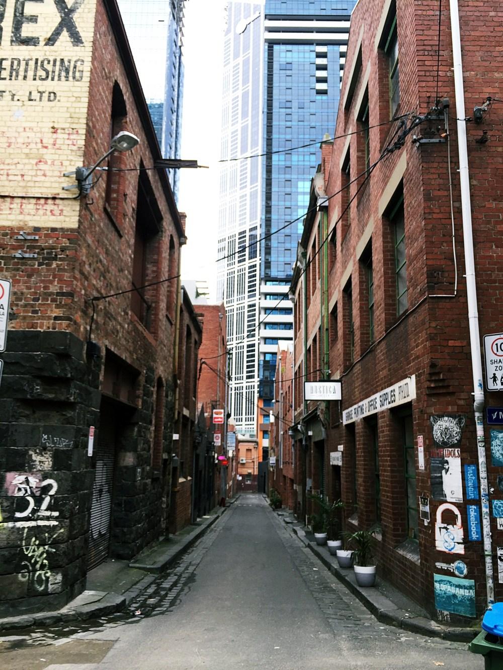 10 July 2016: Guildford Lane | Melbourne CBD, Australia