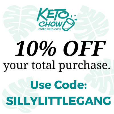 Keto Chow ~ Keto Meal Replacement Shake @ketochow #MySillyLittleGang