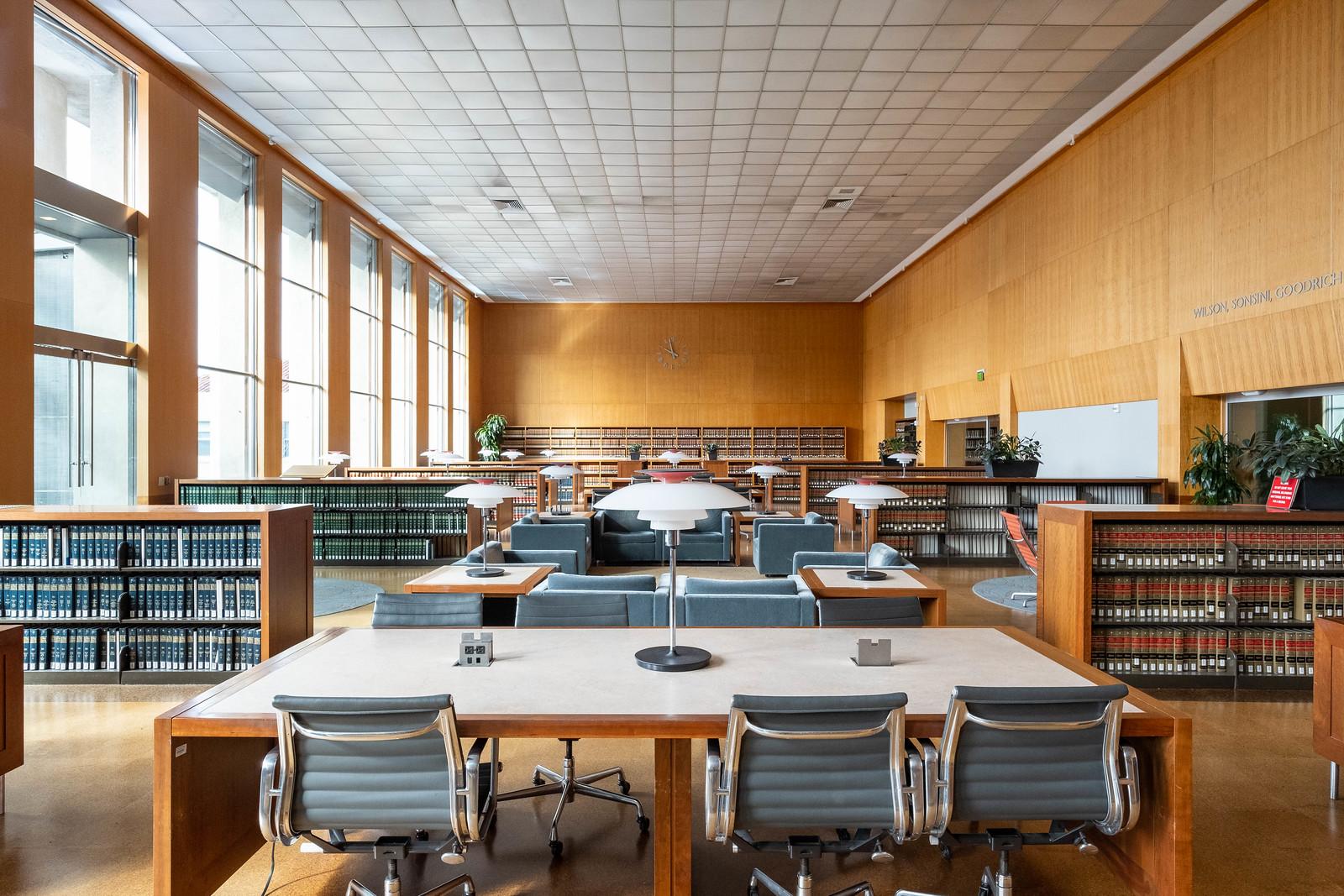 UC Berkeley Law Library Main Reading Room