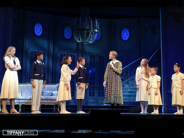 The Sound of Music SG 2017 Maria and Kids
