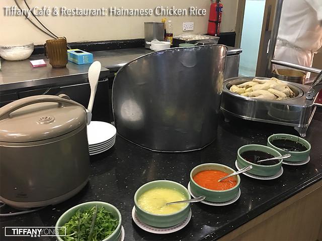 Tiffany Cafe Hainanese Chicken Rice