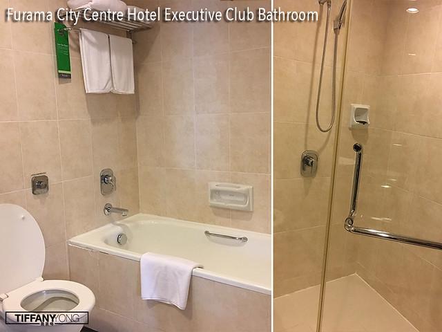 Furama City Centre Hotel Executive Club Bathroom