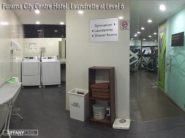 Furama City Centre Hotel Laundrette