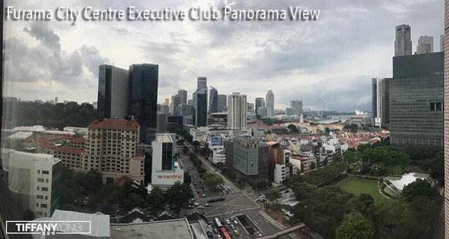 Furama City Centre Executive Club view Panorama