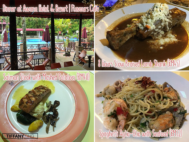 Awana Hotel and Resort Flavours Cafe Food