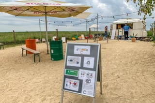 Beach Bar ohne Strand