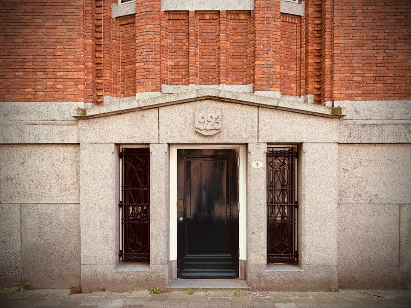 Rotterdam Daily Photo: A library entrance from 1923