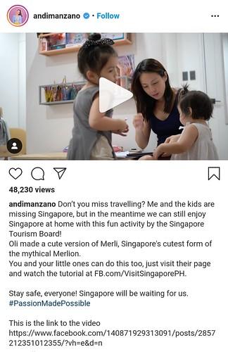 Andi Manzano Singapore Tourism Board