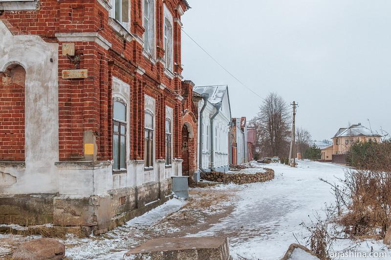 Квартал исторической застройки на улице Вагжанова, Калязин