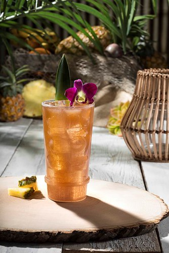 Birds of Paradise Cocktail from Isla Nu-Bar at Universal Studios Hollywood