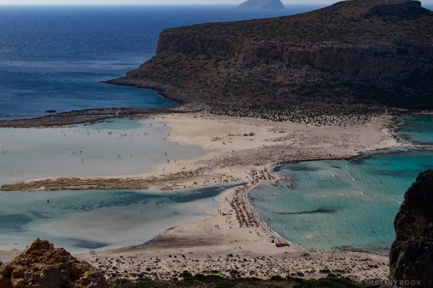 Chania - Balos beach and lagoon