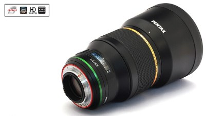 First photos of new HD PENTAX-D FA★ 85mm F1.4 ED SDM AW lens!