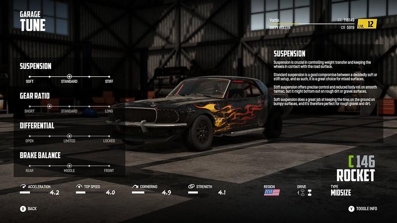 Wreckfest - Налаштування гаражу