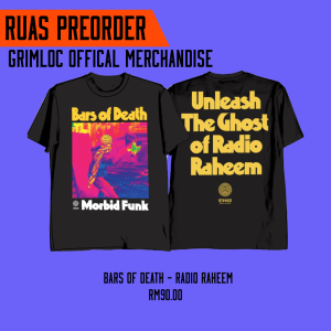 BARS OF DEATH – Radio Raheem (preorder)