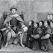Henry the 8th: Granting the Charter to the Barber Surgeons