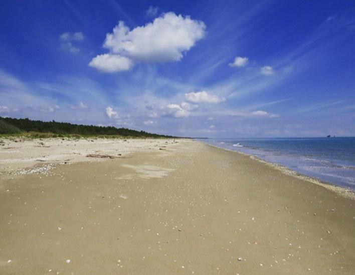 Slow Romagna: spiaggia della Bassona Ravenna