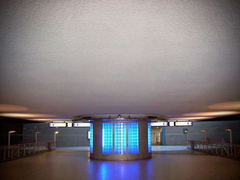 Rotterdam Daily Photo: From the archives: Underground station Blaak