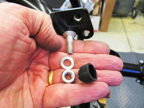 Upper Sub-Frame Mounting Hardware Detail