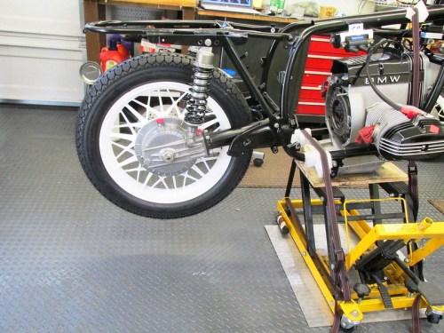 Rear Wheel Mounted