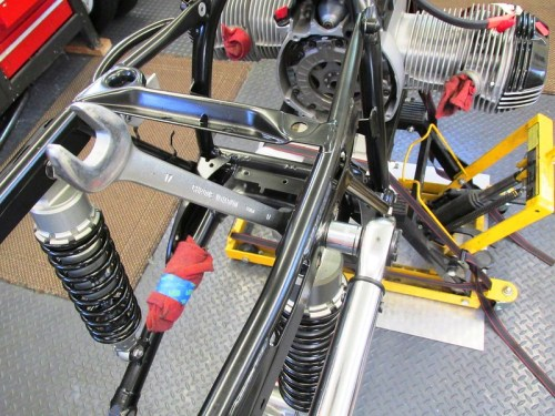 Torque Rear Shock Bolts To 25 FT-Lbs