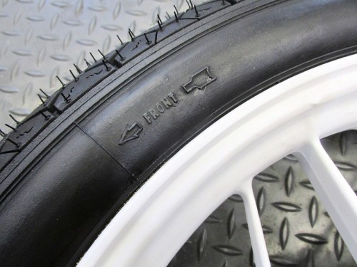 Verify Direction Of Tire Rotation