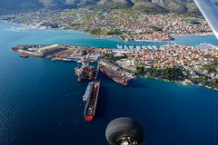 Trogir from the Air